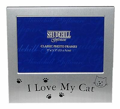 I Love My Cat Photo Picture Frame