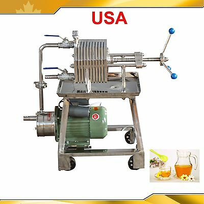 Stainless Steel Filter Press Filter Machine Laboratory Filtration Equipment 220V