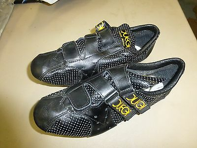 Vintage 1970's - NOS - Duegi 308 Leather Cycling Shoes size 42