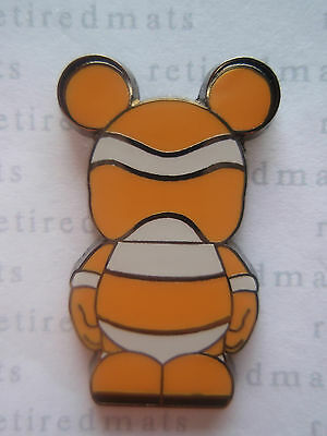 AUTHENTIC Disney Vinylmation Pin Junior Jr 2 Characters - Finding Nemo Fish REAL