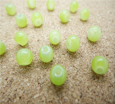 NEW DIY 100pcs 4mm Ball Glass crystal Beads Green Fit Bracelets Necklaces HQ801