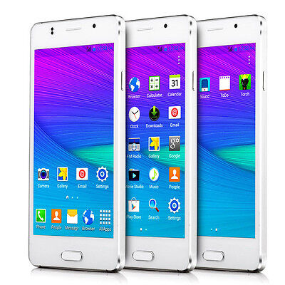 """Unlocked 5"""" 2 Core Android 4.4 WCDMA/GSM T-mobile 3G GPS Wifi Smart Cell Phone"""