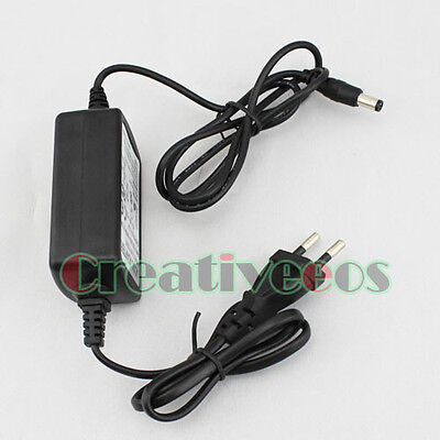 EU Plug 100-240V AC/DC 12V 2A Charger Power Adapter Supply For CCD Camera New