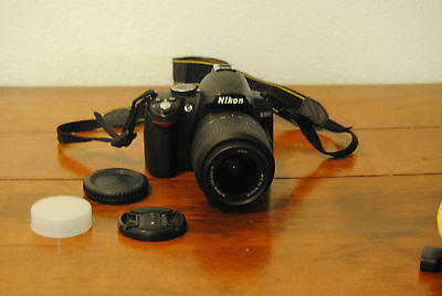 Nikon D3000 Digital Camera  18-55 mm Lens with VR (vibration reduction)