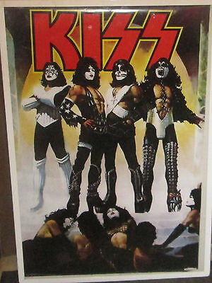 KISS LIMITED NEW RARE POSTER ROCK  2012 FUTURE COLLECTABLE LOVE GUN