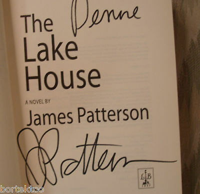 The Lake House by James Patterson (2003) SIGNED and Inscribed