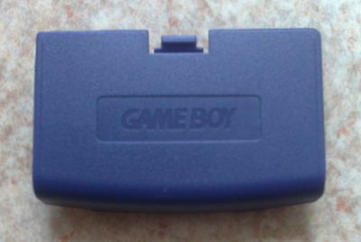 Cache Pile Violet Indigo - NEUF - Game Boy Advance - Gameboy GBA Battery Cover