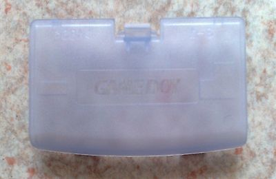 "Cache Pile ""Glacier"" Violet transparent - NEUF - Game Boy Advance - Gameboy GBA"