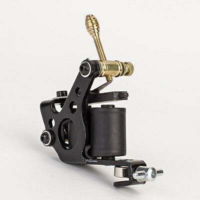 New Black Tattoo Machine Gun for Liner Shader Dual 10 Wrap Coil Equipment Supply