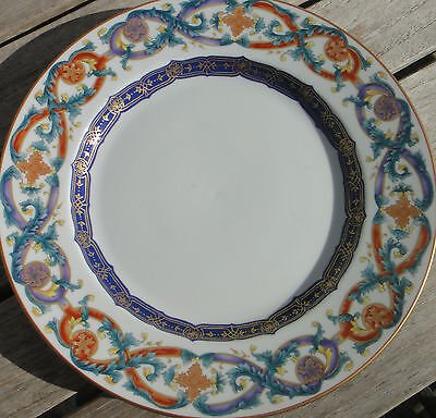 Mottahedeh 'The Merian Service' Dinner Plate. Mildred R Mottahedeh Collection