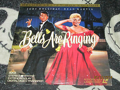 Bells Are Ringing Letterbox Laserdisc LD Judy Holliday Dean Martin