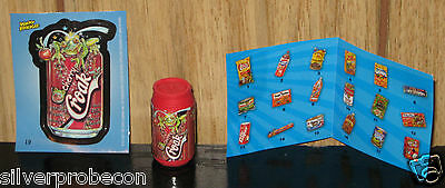 NEW 2011 TOPPS WACKY PACKAGES ERASER SERIES CHERRY CROAK NEW WITH STICKER