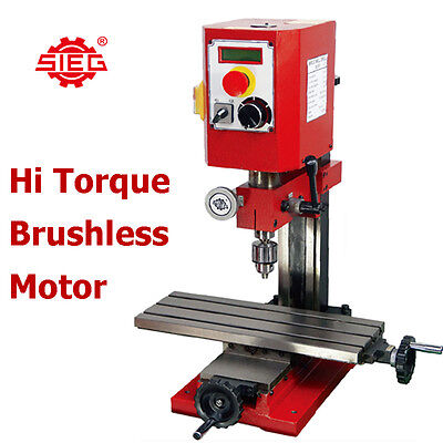 SIEG SX1-P Milling Machine 400mm x 145mm Long Table, Brushless Hi Torque Motor