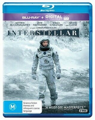 Interstellar (Matthew McConaughey) Blu-ray Region B New!