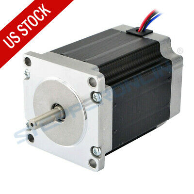US Ship Nema 23 CNC Stepper Motor 1.9Nm(269oz.in) CNC Mill Lathe Router Robot