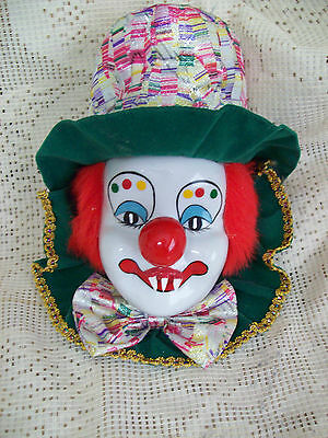Zombie Baby Doll Evil Clown Wall Hanging  Halloween Haunted House Horror Prop