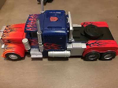 Transformers Dark Of The Moon Stealth Force Optimus Prime - Loose - Works