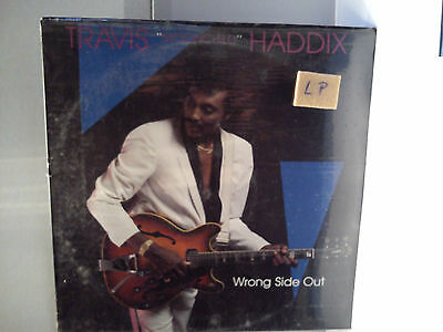 Travis Haddix -  Wrong side out              ..............................Vinyl