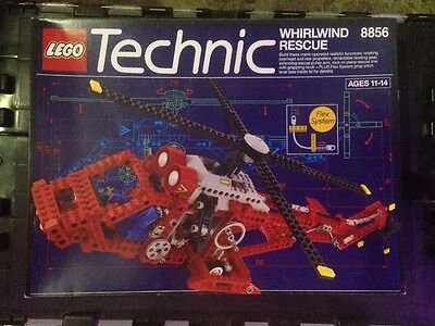 Lego 8856 Technic Whirlwind Rescue helicopter