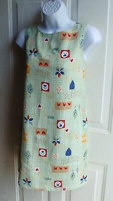 Gus & Max Very Retro Style & Design Great VTG Dress beautiful Colors Sz S