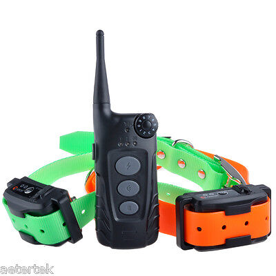 Professional Pet Lover Gift Shock Collar Remote Control 2 Hunt Police Dogs Train