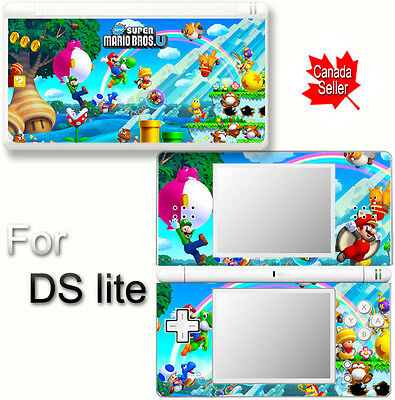 Super Mario NEW SKIN DECAL VINYL STICKER COVER for Nintendo DS Lite