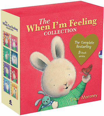 The When I'm Feeling 8 Books Collection Slipcase Hard Cover Set Trace Moroney