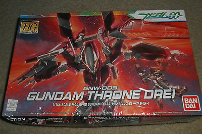 BANDAI HG GNW-003 Gundam Throne Drei Mobile Suit Gundam 00)1/144 scale kit Japan