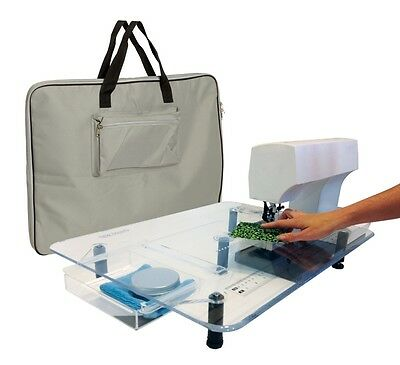 Bernina Sew Steady Extension Table Custom Built - ULTIMATE DELUXE Large 18 X 24