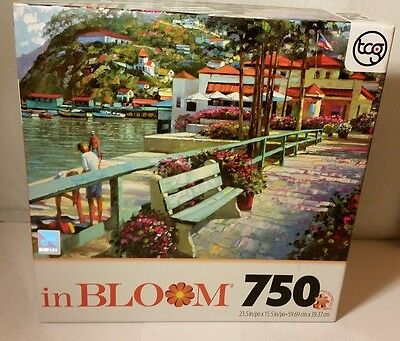 In Bloom, Catalina Promenade 750 piece jigsaw puzzle, 23.5 x 15.5 inch, by TCG