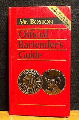 Mr. Boston Official Bartender's Guide 50th Anniversary 1935-1985 1st Printing HC