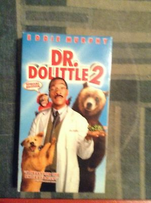 Dr. Dolittle 2 (VHS, 2001) Eddie Murphy Gently Used