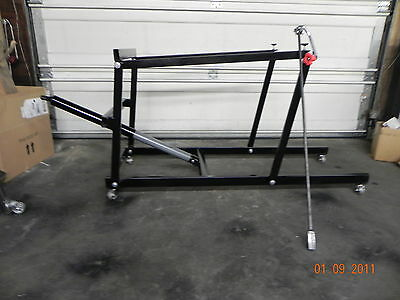 Snowmobile and Atv Stand Lift for any make and model.