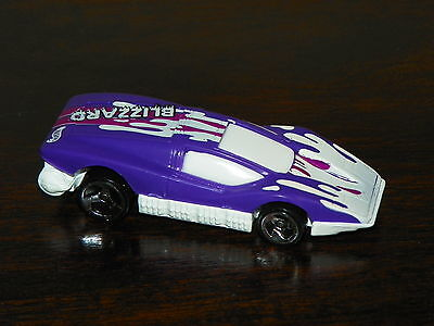 HOT WHEELS QUICK SILVER SERIES SILVER BULLET #546 PURPLE/WHITE LOOSE