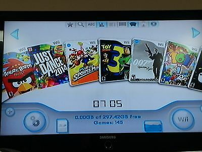 Nintendo Wii White Console (NTSC) with Lots of Games