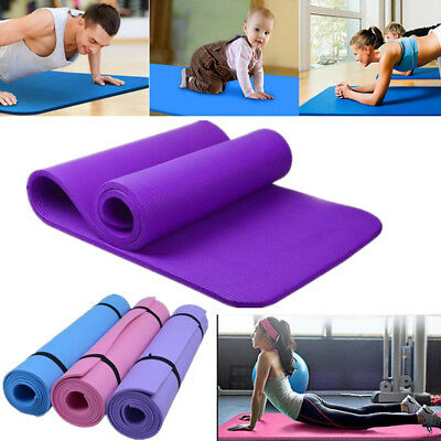 Thick Durable Yoga Mat Non-slip Fitness Pad Lose Weight Exercise Mats 6/8/10mm