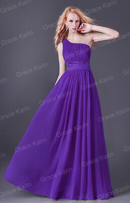 Bridesmaid Formal Homecoming Evening Prom Party Long Gown Wedding Dresses Size 4