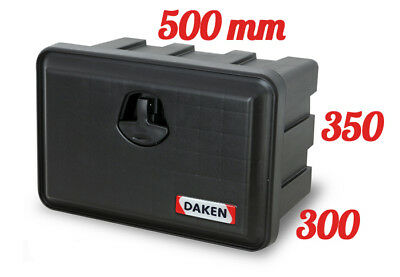 DAKEN Just 500 R TOOL BOX 30L / Truck Storage Box / Lorry / Bus Tool Case
