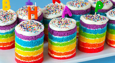 6 Pack Sugarflair Paste Rainbow Cake Colours Edible Gel Icing Food Colour 25g
