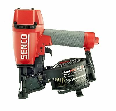 "Senco Coil Roofing Nailer 3/4"" to 1-3/4"" 8V0001N RoofPro 445XP New"