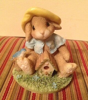 """My Blushing Bunnies """"Bless This Home"""" 1995 Collectible 157775"""