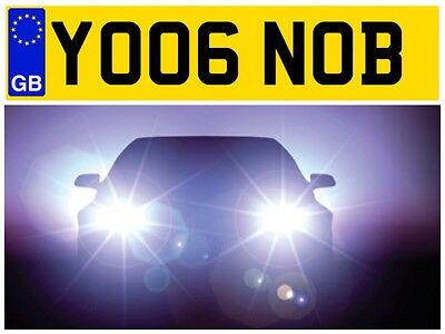 Yo06 Nob Nob Nobby Amusing Rude Naughty X Rated Funny Laugh Lol Number Plate