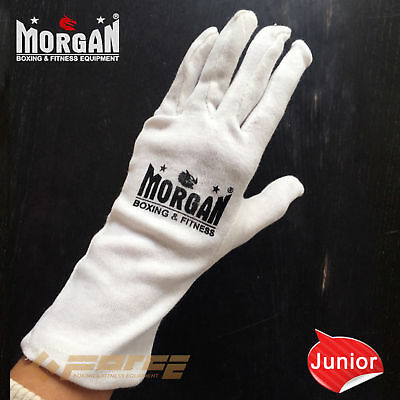 1 x pairs MORGAN INNER Boxing Glove cotton liner Sweat inserts protect Junior