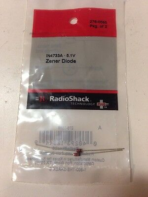 IN4733A • 5.1V Zener Diode #276-0565 By RadioShack