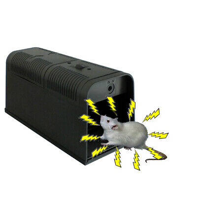 Electric Mouse Rat Killer + Uk Adaptor - Zapper Trap Poison Free Pest Control
