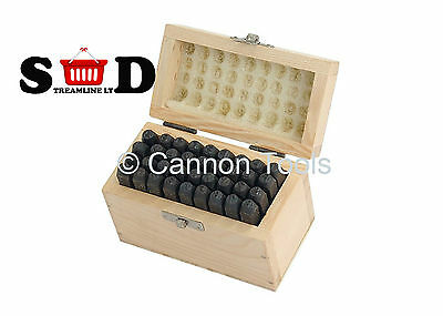 36PC 4mm STAMP PUNCH LETTER & NUMBER PUNCHES METAL STAMPING PRESSING KIT CT0486