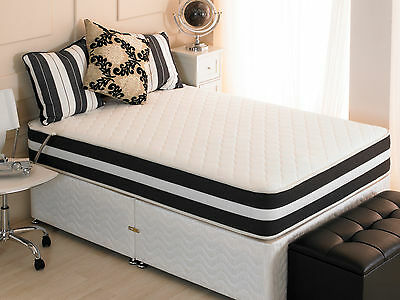 "Ortho 3D 10""  Memory Spring Foam Mattresses 