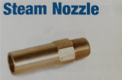 Steam Nozzle Blank for Pressure Steam Machines Drill to size