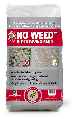 Dansand Paving sand 20kg Block No Weed Yellow  Paving Sand