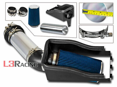 For 99-03 F250 F350 F450 Super Duty Air Intake Induction Heat Shield Black Pipe